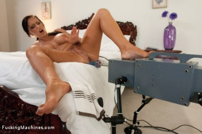 Photo number 6 from The Bitches of Wood Mansion<br> Part 1: Sexual Tension  shot for Fucking Machines on Kink.com. Featuring Jenna Presley, Charley Chase and Alysa in hardcore BDSM & Fetish porn.