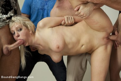 Photo number 5 from Whore Wife shot for Bound Gang Bangs on Kink.com. Featuring James Deen, John Strong, Cherry Torn, Bruce Venture, Joey Brass and Otto Bauer in hardcore BDSM & Fetish porn.