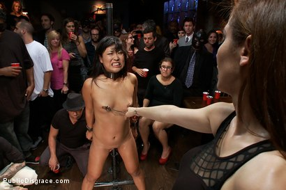 Photo number 4 from Adorable Asian Model Disgraced shot for Public Disgrace on Kink.com. Featuring John Strong, Yuki Mori and Princess Donna Dolore in hardcore BDSM & Fetish porn.