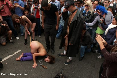 Photo number 4 from Folsom Street Fair shot for Public Disgrace on Kink.com. Featuring Audrey Rose, Mickey Mod and Princess Donna Dolore in hardcore BDSM & Fetish porn.