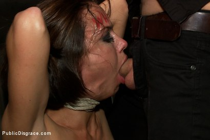 Photo number 3 from Big Tittied McKenzie Lee is Disgraced in Public Bar shot for Public Disgrace on Kink.com. Featuring Tommy Pistol, Princess Donna Dolore and Mckenzie Lee in hardcore BDSM & Fetish porn.