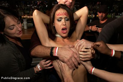 Photo number 2 from Big Tittied McKenzie Lee is Disgraced in Public Bar shot for Public Disgrace on Kink.com. Featuring Tommy Pistol, Princess Donna Dolore and Mckenzie Lee in hardcore BDSM & Fetish porn.