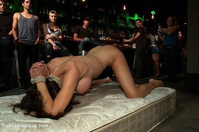 Photo number 6 from Big Tittied McKenzie Lee is Disgraced in Public Bar shot for Public Disgrace on Kink.com. Featuring Tommy Pistol, Princess Donna Dolore and Mckenzie Lee in hardcore BDSM & Fetish porn.