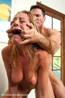 Photo number 8 from Fantasies of a Submissive Wife shot for Sex And Submission on Kink.com. Featuring James Deen, John Strong, Kristina Rose and Lizzy London in hardcore BDSM & Fetish porn.