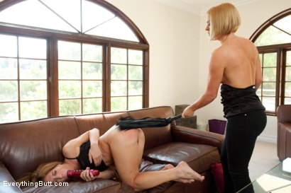 Photo number 3 from Anal Punishment: Amy Brooke and Krissy Lynn shot for Everything Butt on Kink.com. Featuring James Deen, Krissy Lynn and Amy Brooke in hardcore BDSM & Fetish porn.