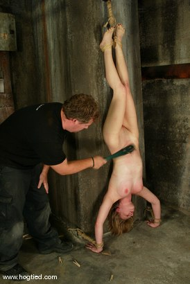 Photo number 15 from Cloe Hart shot for Hogtied on Kink.com. Featuring Cloe Hart in hardcore BDSM & Fetish porn.