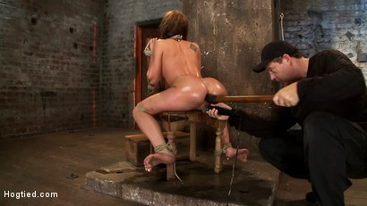 Photo number 9 from Amy Brooke has her amazing gaping ass fucked & hooked. Made to cum & squirt so hard her ass rosebuds shot for Hogtied on Kink.com. Featuring Amy Brooke in hardcore BDSM & Fetish porn.