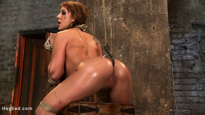 Photo number 11 from Amy Brooke has her amazing gaping ass fucked & hooked. Made to cum & squirt so hard her ass rosebuds shot for Hogtied on Kink.com. Featuring Amy Brooke in hardcore BDSM & Fetish porn.