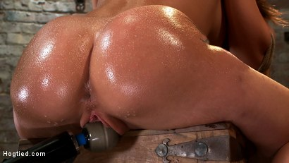 Photo number 3 from Amy Brooke has her amazing gaping ass fucked & hooked. Made to cum & squirt so hard her ass rosebuds shot for Hogtied on Kink.com. Featuring Amy Brooke in hardcore BDSM & Fetish porn.