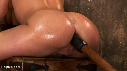 Photo number 5 from Amy Brooke has her amazing gaping ass fucked & hooked. Made to cum & squirt so hard her ass rosebuds shot for Hogtied on Kink.com. Featuring Amy Brooke in hardcore BDSM & Fetish porn.