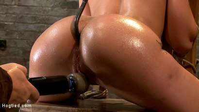 Photo number 10 from Amy Brooke has her amazing gaping ass fucked & hooked. Made to cum & squirt so hard her ass rosebuds shot for Hogtied on Kink.com. Featuring Amy Brooke in hardcore BDSM & Fetish porn.