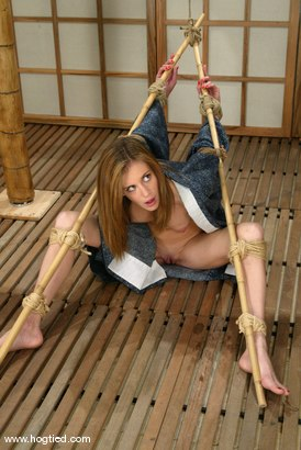 Photo number 2 from Audrey Leigh shot for Hogtied on Kink.com. Featuring Audrey Leigh in hardcore BDSM & Fetish porn.