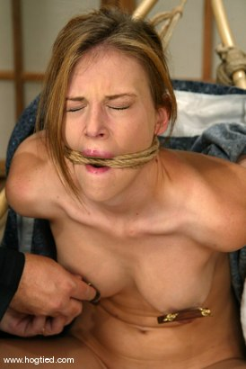 Photo number 3 from Audrey Leigh shot for Hogtied on Kink.com. Featuring Audrey Leigh in hardcore BDSM & Fetish porn.