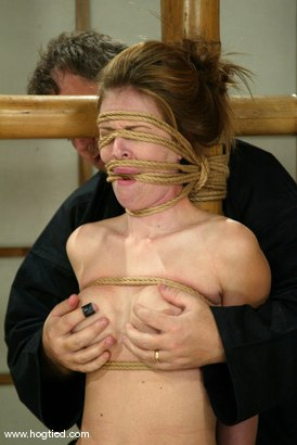 Photo number 8 from Audrey Leigh shot for Hogtied on Kink.com. Featuring Audrey Leigh in hardcore BDSM & Fetish porn.