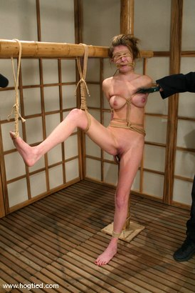 Photo number 9 from Audrey Leigh shot for Hogtied on Kink.com. Featuring Audrey Leigh in hardcore BDSM & Fetish porn.