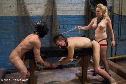 Photo number 6 from Ultimate Humiliation, TRUE DEVOTION!!!! shot for Divine Bitches on Kink.com. Featuring Aiden Starr, Leo and Jason Miller in hardcore BDSM & Fetish porn.