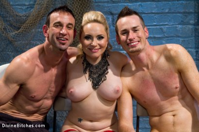 Photo number 9 from Ultimate Humiliation, TRUE DEVOTION!!!! shot for Divine Bitches on Kink.com. Featuring Aiden Starr, Leo and Jason Miller in hardcore BDSM & Fetish porn.