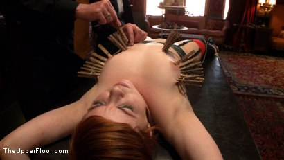 Photo number 17 from Service Day: Hurting Time shot for The Upper Floor on Kink.com. Featuring Lilla Katt in hardcore BDSM & Fetish porn.