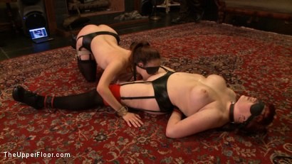 Photo number 11 from Service Day: Blind shine shot for The Upper Floor on Kink.com. Featuring Nerine Mechanique and Iona Grace in hardcore BDSM & Fetish porn.