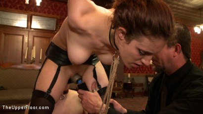 Photo number 8 from Service Day: Blind shine shot for The Upper Floor on Kink.com. Featuring Nerine Mechanique and Iona Grace in hardcore BDSM & Fetish porn.