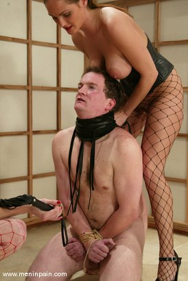 Photo number 13 from Venus, Bob Crane and Audrey Leigh shot for Men In Pain on Kink.com. Featuring Venus, Bob Crane and Audrey Leigh in hardcore BDSM & Fetish porn.