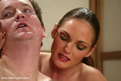 Photo number 9 from Venus, Bob Crane and Audrey Leigh shot for Men In Pain on Kink.com. Featuring Venus, Bob Crane and Audrey Leigh in hardcore BDSM & Fetish porn.