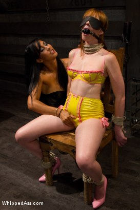 Photo number 10 from Milking Her Tits shot for Whipped Ass on Kink.com. Featuring Isis Love and Marie McCray in hardcore BDSM & Fetish porn.