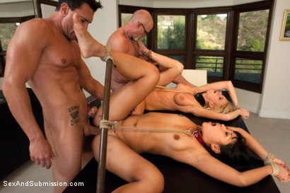 Photo number 10 from Humiliated Wife shot for Sex And Submission on Kink.com. Featuring Marco Banderas, Mark Davis, Kaylee Hilton and Yuki Mori in hardcore BDSM & Fetish porn.