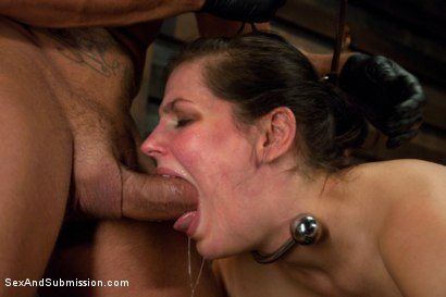 Photo number 10 from Bobbi Starr Destroyed! shot for Sex And Submission on Kink.com. Featuring Nacho Vidal and Bobbi Starr in hardcore BDSM & Fetish porn.