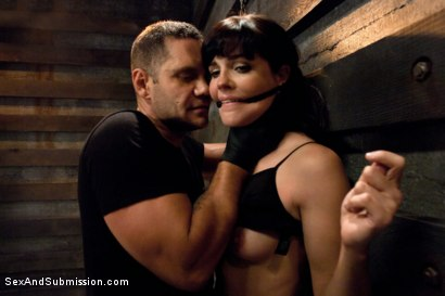 Photo number 1 from Bobbi Starr Destroyed! shot for Sex And Submission on Kink.com. Featuring Nacho Vidal and Bobbi Starr in hardcore BDSM & Fetish porn.