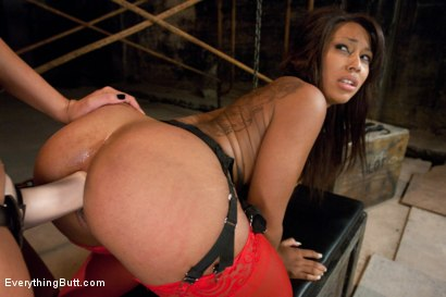 Photo number 8 from Taking Leilani's Ass shot for Everything Butt on Kink.com. Featuring James Deen, Annie Cruz and Leilani Leeane in hardcore BDSM & Fetish porn.