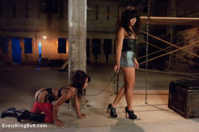 Photo number 2 from Taking Leilani's Ass shot for Everything Butt on Kink.com. Featuring James Deen, Annie Cruz and Leilani Leeane in hardcore BDSM & Fetish porn.
