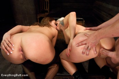 Photo number 12 from Come Out and Play: Ashlynn Leigh shot for Everything Butt on Kink.com. Featuring Mark Wood, Lorelei Lee and Ashlynn Leigh in hardcore BDSM & Fetish porn.