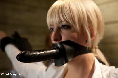 Photo number 7 from Sexy TSA Agent has the Tables Turned and Finds Herself the One Getting Inspected shot for Wired Pussy on Kink.com. Featuring Cherry Torn and Rain DeGrey in hardcore BDSM & Fetish porn.