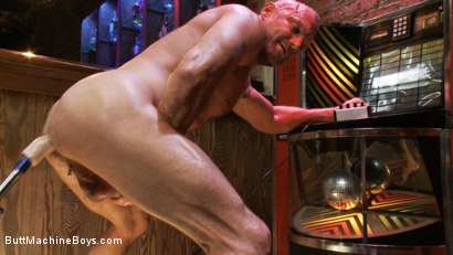 Photo number 12 from Bartender Plays When the Boys Go Away shot for Butt Machine Boys on Kink.com. Featuring Chad Brock in hardcore BDSM & Fetish porn.