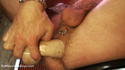 Photo number 3 from Bartender Plays When the Boys Go Away shot for Butt Machine Boys on Kink.com. Featuring Chad Brock in hardcore BDSM & Fetish porn.