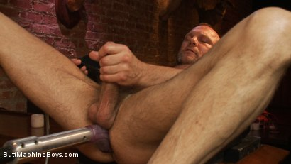 Photo number 4 from Bartender Plays When the Boys Go Away shot for Butt Machine Boys on Kink.com. Featuring Chad Brock in hardcore BDSM & Fetish porn.