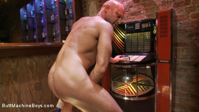 Photo number 15 from Bartender Plays When the Boys Go Away shot for Butt Machine Boys on Kink.com. Featuring Chad Brock in hardcore BDSM & Fetish porn.