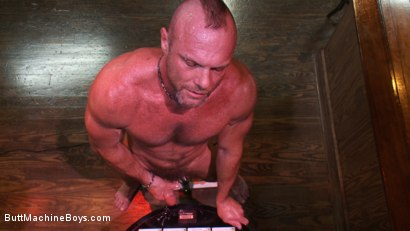 Photo number 14 from Bartender Plays When the Boys Go Away shot for Butt Machine Boys on Kink.com. Featuring Chad Brock in hardcore BDSM & Fetish porn.