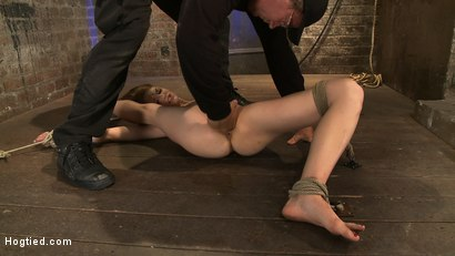 Photo number 8 from The former Disney girl is severely bent & bound<br>Made to cum like a whore, over and over. shot for Hogtied on Kink.com. Featuring Isis Love and Sensi Pearl in hardcore BDSM & Fetish porn.