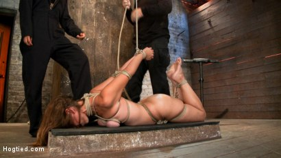 Photo number 6 from Isis Love, Rain DeGrey and Audrey Rose shot for Hogtied on Kink.com. Featuring Isis Love and Audrey Rose in hardcore BDSM & Fetish porn.