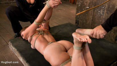 Photo number 8 from Isis Love, Rain DeGrey and Audrey Rose shot for Hogtied on Kink.com. Featuring Isis Love and Audrey Rose in hardcore BDSM & Fetish porn.