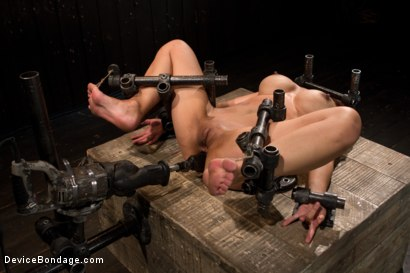 Photo number 14 from The Trials of Tia shot for Device Bondage on Kink.com. Featuring Tia Ling in hardcore BDSM & Fetish porn.