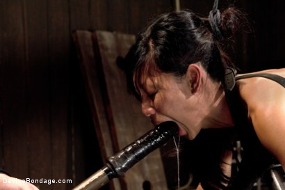 Photo number 6 from The Trials of Tia shot for Device Bondage on Kink.com. Featuring Tia Ling in hardcore BDSM & Fetish porn.
