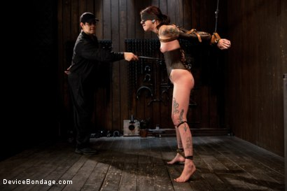 Photo number 7 from Intense Bondage Induces Severe and Electric Orgasms shot for Device Bondage on Kink.com. Featuring Krysta Kaos in hardcore BDSM & Fetish porn.