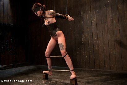Photo number 9 from Intense Bondage Induces Severe and Electric Orgasms shot for Device Bondage on Kink.com. Featuring Krysta Kaos in hardcore BDSM & Fetish porn.