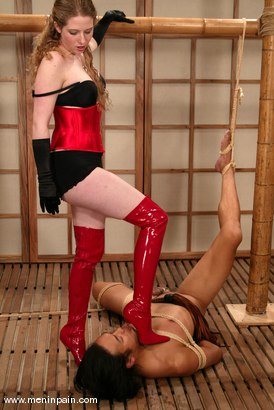 Photo number 14 from Saba and Princess Kali shot for Men In Pain on Kink.com. Featuring Princess Kali and Saba in hardcore BDSM & Fetish porn.