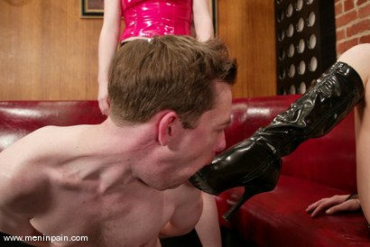 Photo number 3 from Princess Kali, Michael J Cox and Audrey Leigh shot for Men In Pain on Kink.com. Featuring Princess Kali, Michael J Cox and Audrey Leigh in hardcore BDSM & Fetish porn.