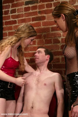 Photo number 15 from Princess Kali, Michael J Cox and Audrey Leigh shot for Men In Pain on Kink.com. Featuring Princess Kali, Michael J Cox and Audrey Leigh in hardcore BDSM & Fetish porn.