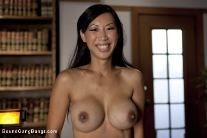 Photo number 1 from Beautiful Asian Lawyer Fantasizes About being Taken Down and Gangbanged in Alley by Five Black Men shot for Bound Gang Bangs on Kink.com. Featuring Tia Ling, Dirk Huge, Lucas Stone, Jack Napier, Tee Reel and Rico Strong in hardcore BDSM & Fetish porn.